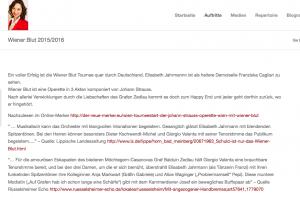 Wiener Blut 2015/2016